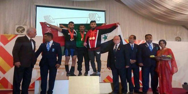 منتخب سورية لرفع الأثقال يحرز 26 ميدالية متنوعة في بطولة غرب آسيا
