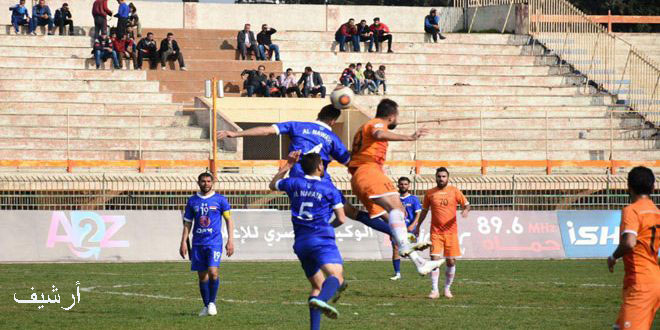 الطليعة يفوز على الوحدة في الدوري الممتاز لكرة القدم