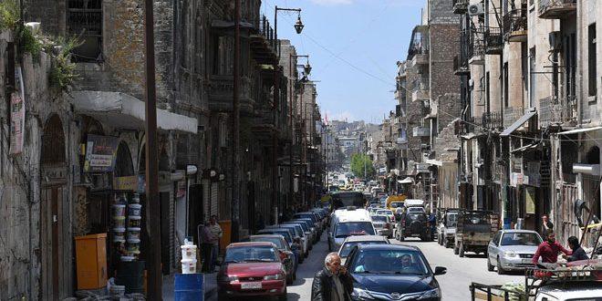 سوق باب النصر التجاري بحلب يستعيد عافيته-فيديو