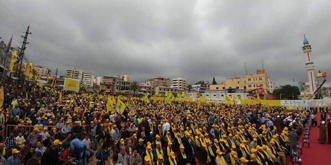 نصرالله: الحرب الإرهابية على سورية هدفها ضرب محور المقاومة
