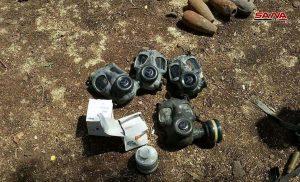 الجهات المختصة تعثر على ورشة لتصنيع القذائف وكميات من الذخائر وقذائف الهاون في الغنطو بريف حمص الشمالي