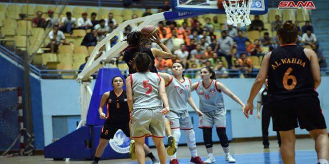 فريق الوحدة يحرز لقب دوري كرة السلة للسيدات