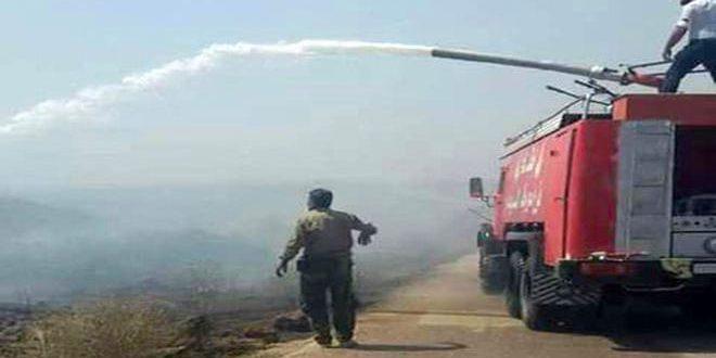 زراعة حماة: تعيين عمال إطفاء بعقود موسمية