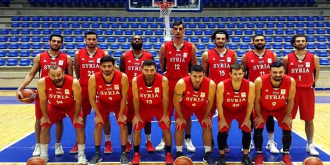 منتخب سورية لكرة السلة يواصل تحضيراته للمرحلة الثالثة لتصفيات كأس العالم