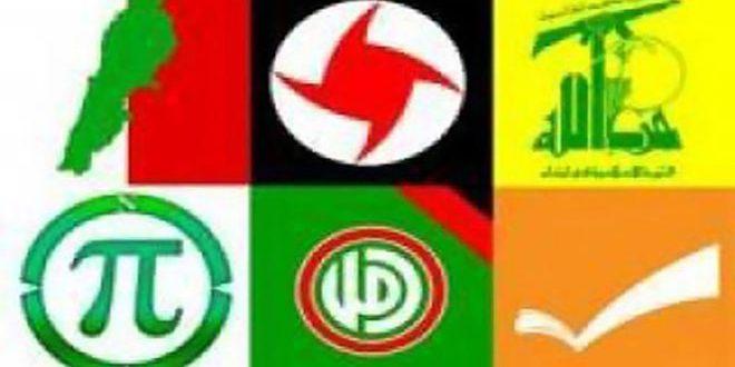 الأحزاب اللبنانية: انتصارات سورية عززت التمسك بخيار المقاومة