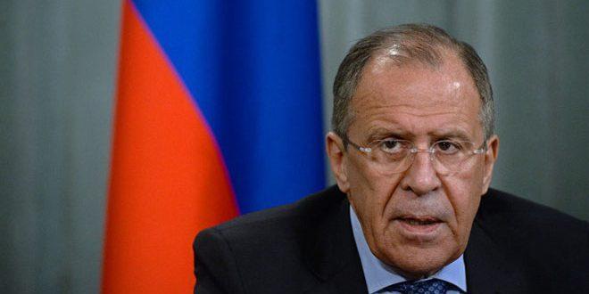 لافروف يبحث مع وزير خارجية النظام التركي حل الأزمة في سورية