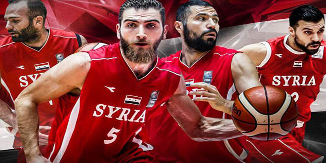 منتخب سورية لكرة السلة يبدأ تحضيراته للنافذة الثالثة من تصفيات كأس العالم