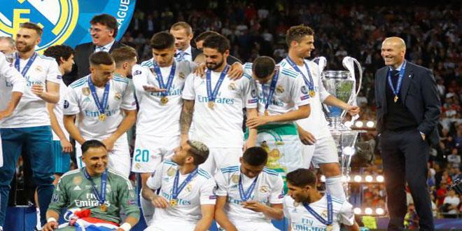ريا ل مدريد يهزم ليفربول ويتوج بلقب دوري أبطال أوروبا
