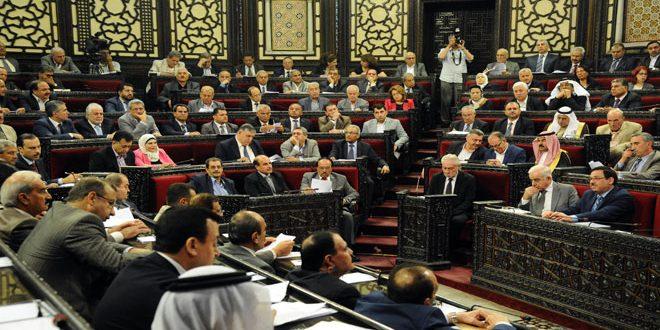 مجلس الشعب يحيل مشروع قانون قطع الحسابات الختامية للموازنة المالية 2012 إلى لجنة الموازنة
