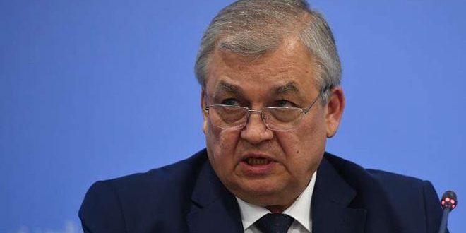 لافرنتييف: روسيا ستواصل محاربة الإرهاب في سورية