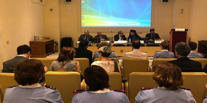 ندوة في مجلس الشيوخ الإيطالي تؤكد على التضامن مع سورية
