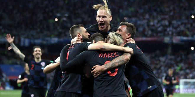 كرواتيا تهزم الأرجنتين بثلاثية وتتأهل للدور الثاني في مونديال روسيا
