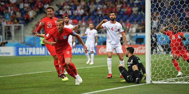 ثنائية كين تمنح إنكلترا فوزا قاتلاً على تونس في كأس العالم