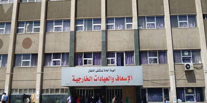 مشفى الأطفال: الخميس القادم موعد الامتحان التحريري لمسابقة الفئة الأولى