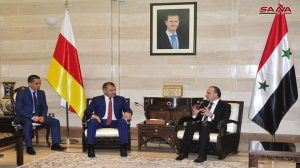 الرئيس بيبيلوف يختتم زيارته لسورية بلقاء رئيسي مجلس الشعب ومجلس الوزراء ورئيس وأعضاء غرفة تجارة دمشق