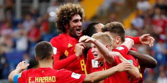 بلجيكا تتأهل لربع نهائي بطولة كأس العالم على حساب اليابان