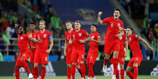 انكلترا تقصي كولومبيا بركلات الترجيح وتضرب موعداً مع السويد في ربع نهائي مونديال روسيا