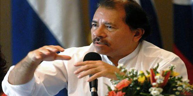 أورتيغا: واشنطن تمول موجة العنف في نيكاراغوا