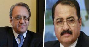 بوغدانوف وحداد يبحثان الوضع في سورية