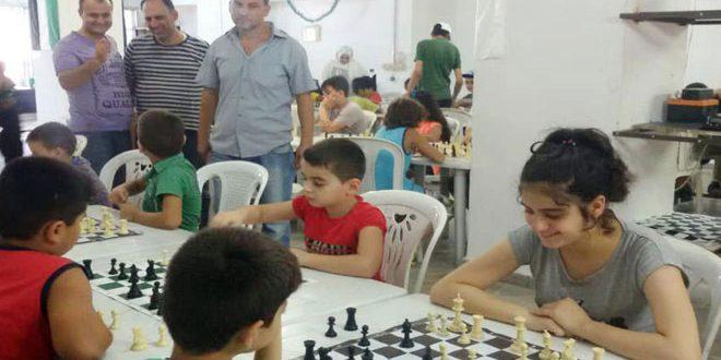 اختتام بطولتي الشطرنج والسلة ضمن مهرجان سوريتي هويتي