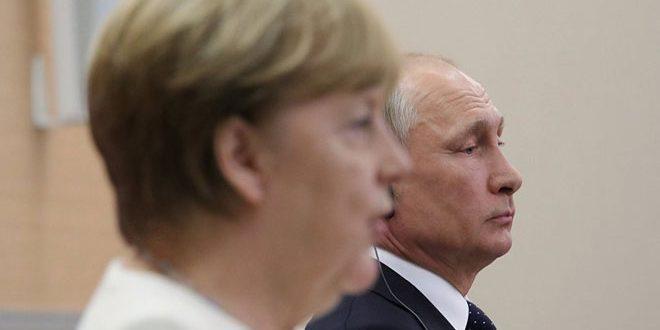 بوتين سيبحث في برلين الأزمة في سورية