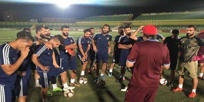 فريق الجيش يودع بطولة الأندية العربية لكرة القدم