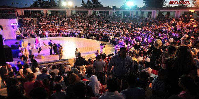 احتفال مركزي لمنظمة طلائع البعث بمناسبة الذكرى الثالثة والأربعين لتأسيسها