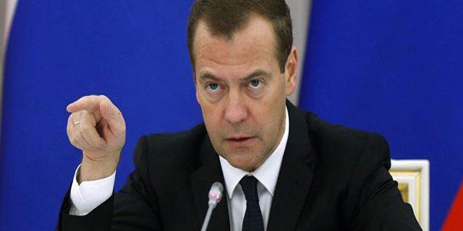 ميدفيديف: الحشود والقدرات العسكرية لحلف الناتو موجهة ضد روسيا