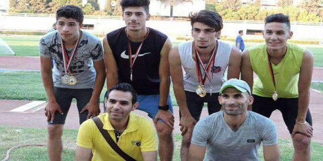 ديوب يطمح لرفع علم الوطن في البطولات الخارجية في لعبة كرة القدم وألعاب القوى