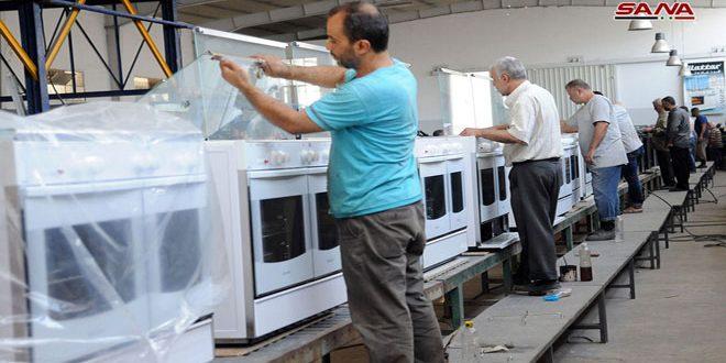 70 منشأة صناعية تعود للعمل والإنتاج بالمنطقة الصناعية في تل كردي