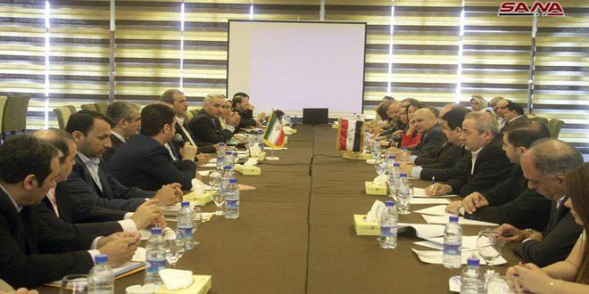 وفد اقتصادي إيراني يبحث الاتفاقيات المشتركة مع سورية