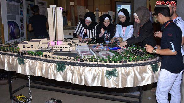 مشاريع إبداعية لطلبة حلب في معرض الابتكار والاختراع الجامعي الثاني