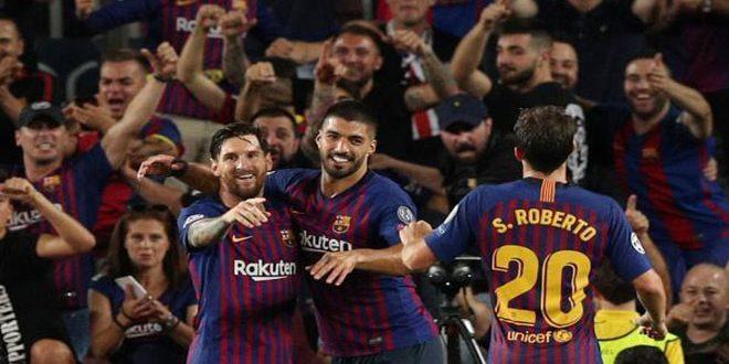 دوري أبطال أوروبا… فوز برشلونة وليفربول على أيندهوفن وباريس سان جيرمان