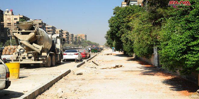 إغلاق جزئي لشارع فارس الخوري أمام حركة المرور لمدة خمسة أيام بسبب أعمال الصيانة