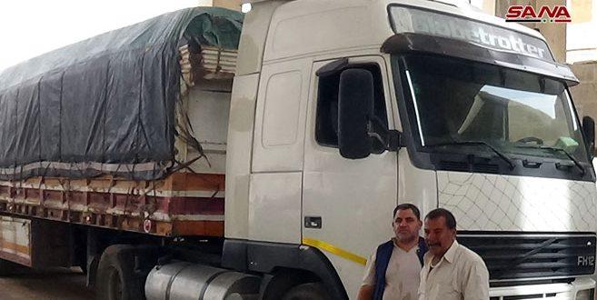 اتفاقية بين اتحاد شركات شحن البضائع في سورية مع نظيره الأردني.. ومغادرة 4 شاحنات بضائع عبر معبر نصيب
