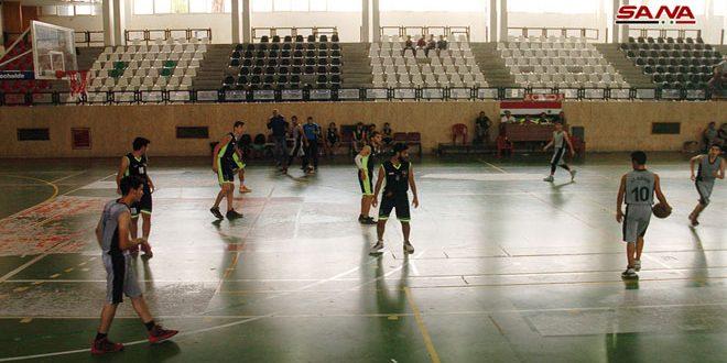 فوز الفيحاء على العربي في دوري كرة السلة لفئة الشباب