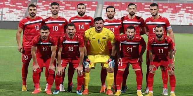 منتخب سورية لكرة القدم يخسر أمام نظيره الصيني وديا