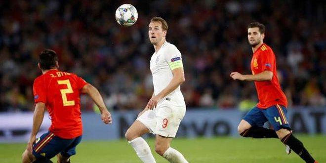 إنكلترا تهزم إسبانيا بدوري الأمم الأوروبية
