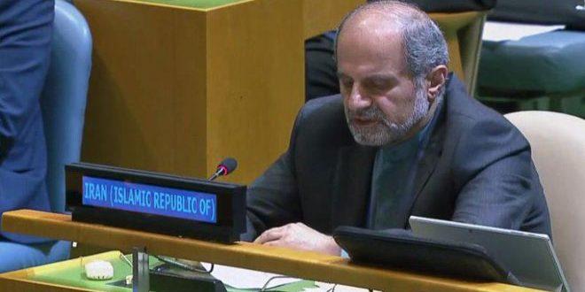 طهران: تحديد مستقبل سورية حق حصري لشعبها