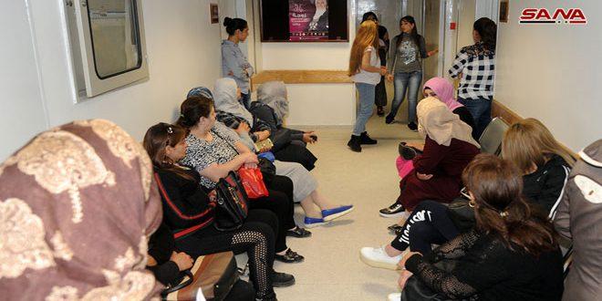 التوليد الجامعي:أغلبية الحالات المراجعة ضمن حملة الكشف المبكر عن سرطان الثدي سليمة