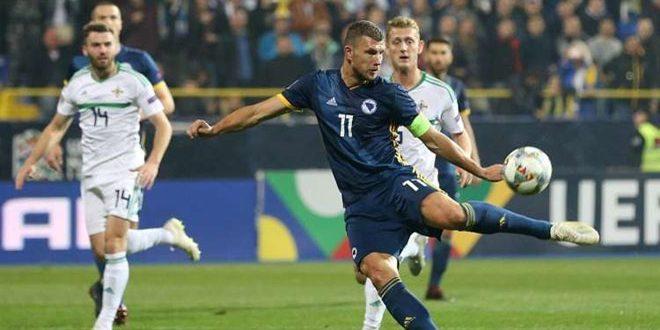 البوسنة تهزم إيرلندا الشمالية 2-0 بدوري الأمم الأوروبية