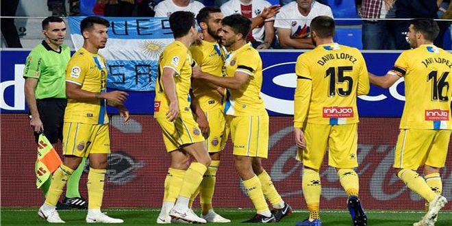 اسبانيول يقلص الفارق مع برشلونة لنقطة في صدارة الدوري الإسباني