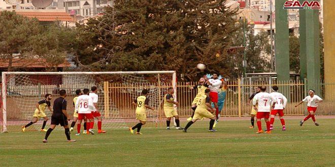 فوز العربي على النبك في دوري الدرجة الأولى لكرة القدم