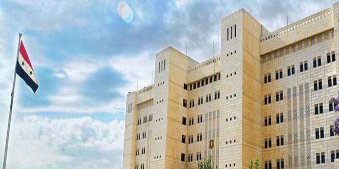 سورية تدين بأشد العبارات الاعتداء الإجرامي الذي استهدف كلية البوليتكنيك غرب شبه جزيرة القرم الروسية