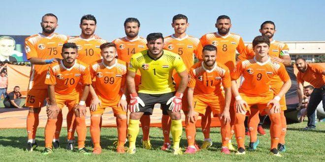 الوحدة يفوز على الجيش في الدوري الممتاز لكرة القدم