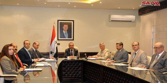 وزير الإدارة المحلية: نواصل تأهيل البنى التحتية في المناطق المحررة من الإرهاب