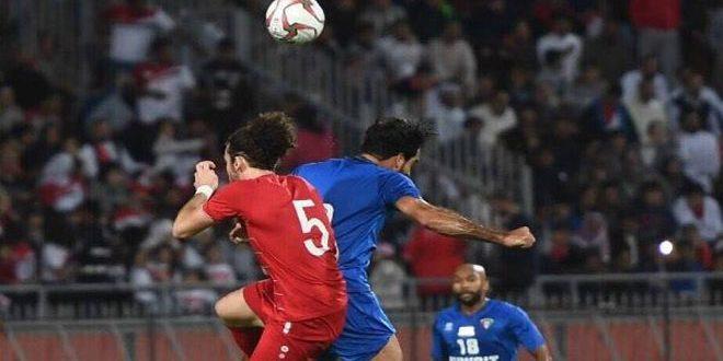 منتخب سورية لكرة القدم يفوز على نظيره الكويتي ودياً