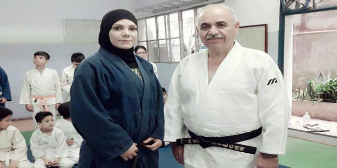 بطلة الجودو أوجي: حلمي رفع علم سورية خارجيا