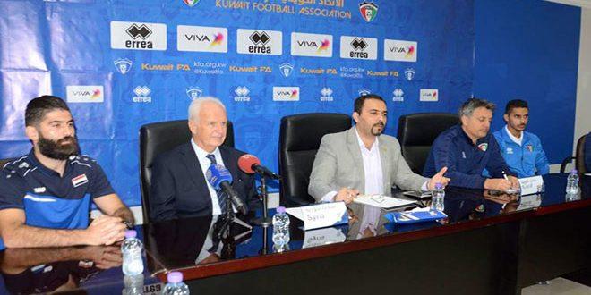 شتانغه معلقاً على الفوز  أمام الكويت: الجمهور السوري منحنا قوة إضافية