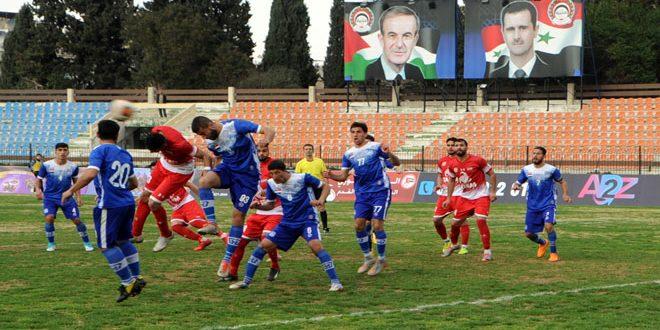 قمة لاهبة بين الوحدة والاتحاد في الدوري الممتاز لكرة القدم